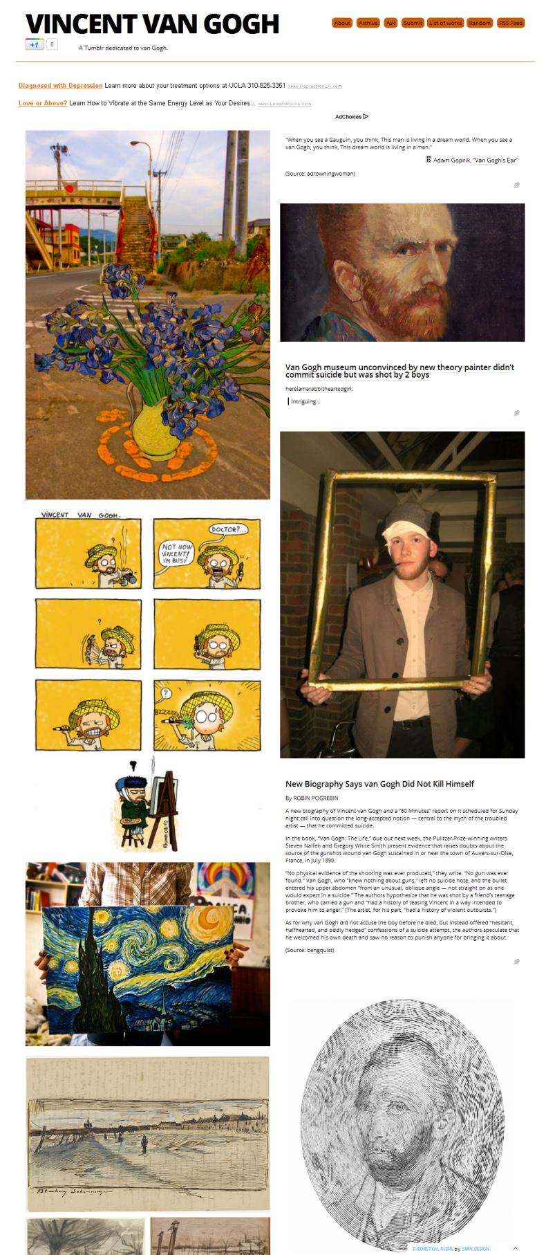 Scott Lickstein - All About Van Gogh - 2011
