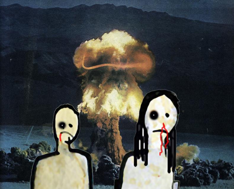 Trespass - Scott Lickstein with Ian Gamache - Ian has been Gamached - 2011