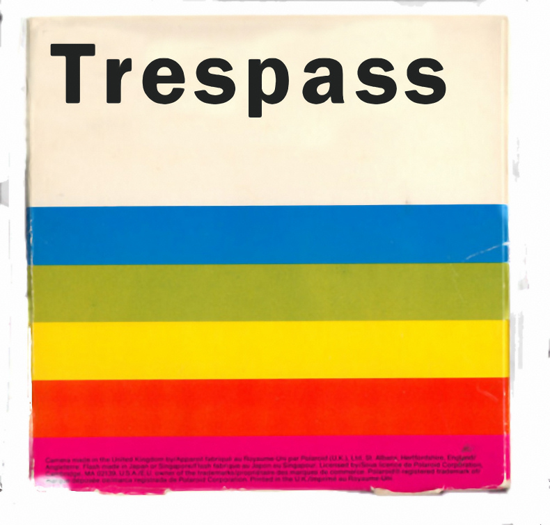 Trespass - Scott Lickstein with Ian Gamache - Going Gamache - 2011